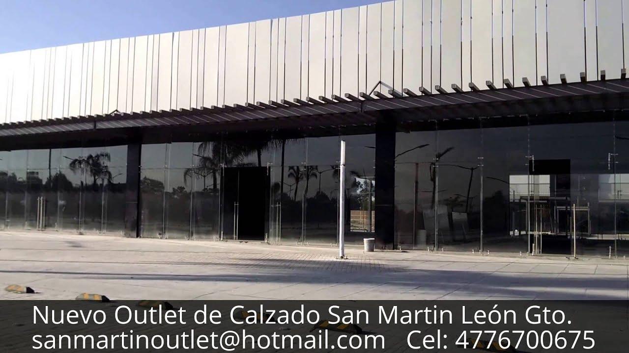 Nuevo outlet san martin el outlet m s importante de calzado y piel en le n youtube - Zapateria casas outlet ...