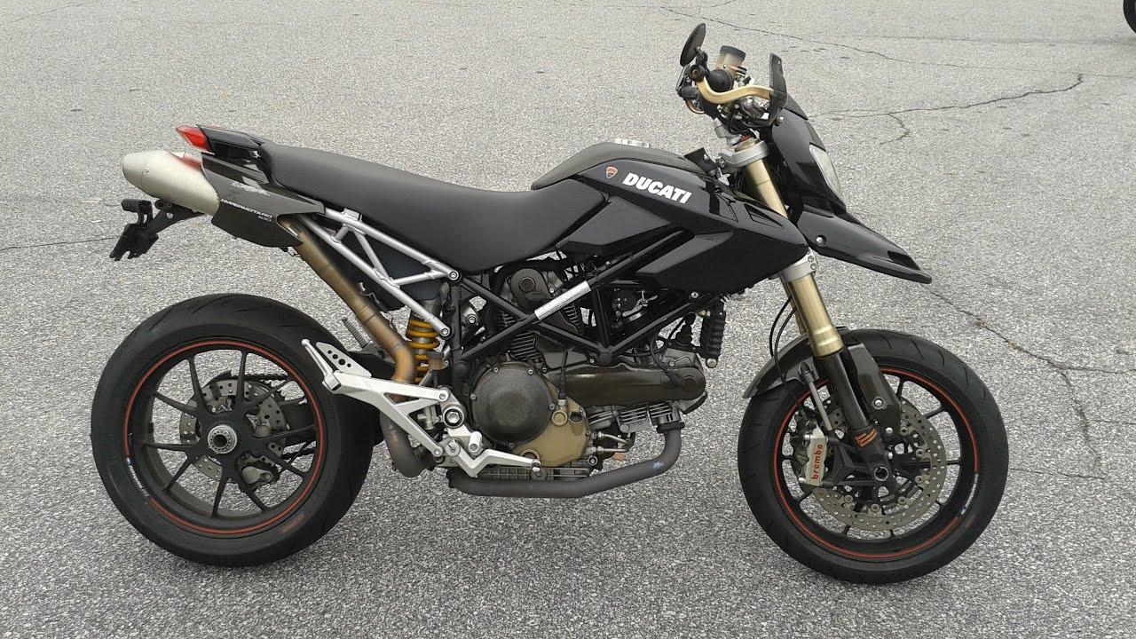 2008 Ducati Hypermotard 1100 S Wheelie Monster