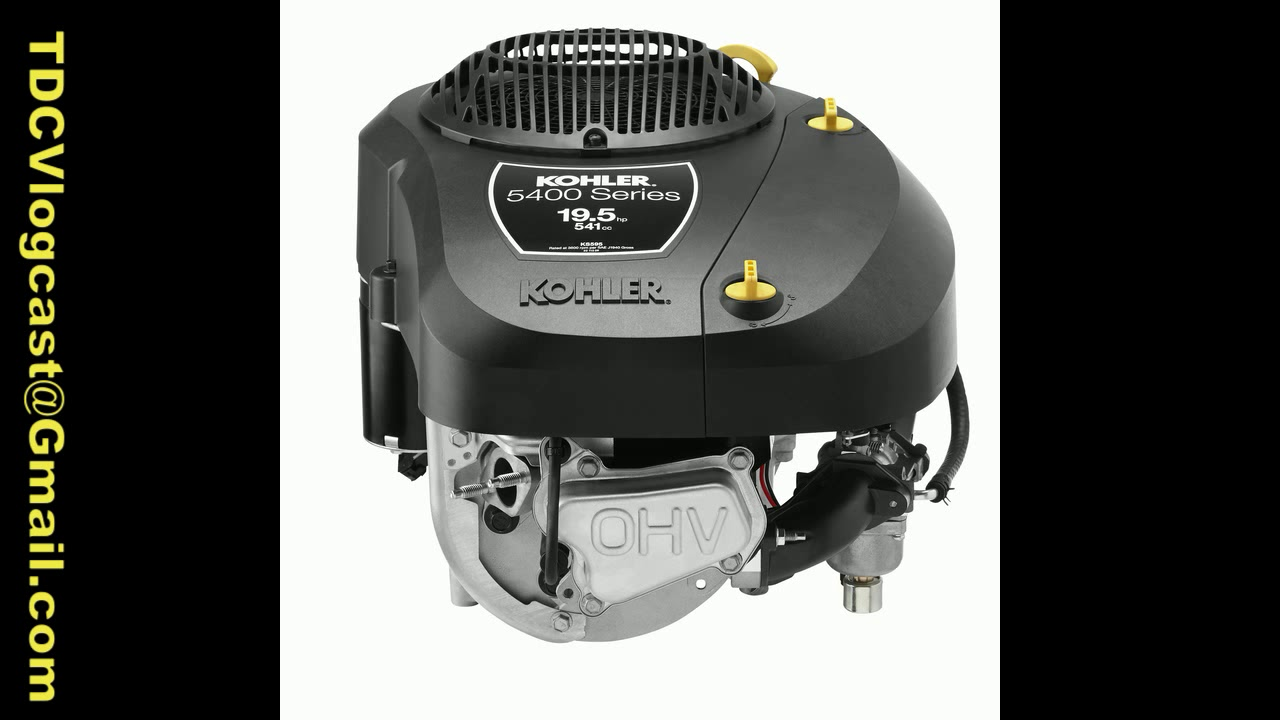 The new Kohler 5400 Series single cylinder engines