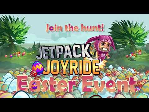 Join the Hunt! - Jetpack Joyride - Easter Event