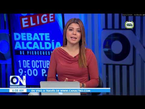 Oriente Noticias primera emisión 01 de octubre