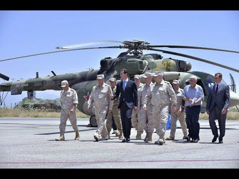 Assad visits Russian airbase in Syria's Latakia to up alliance