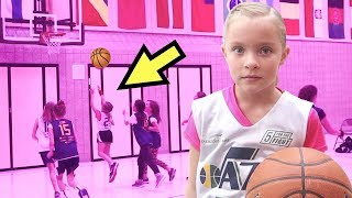 Girl STEALS the Ball at Basketball Game 🏀