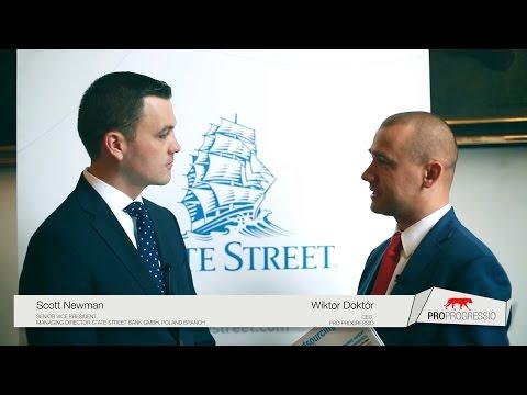 Ekspansja State Street w Polsce - wywiadu udziela Scott Newman