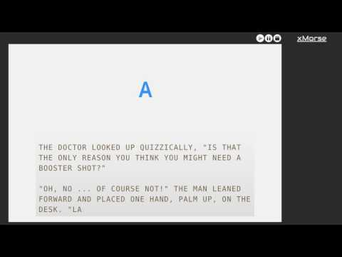 13 WPM Beyond Pandora in Morse Code (Robert J. Martin)