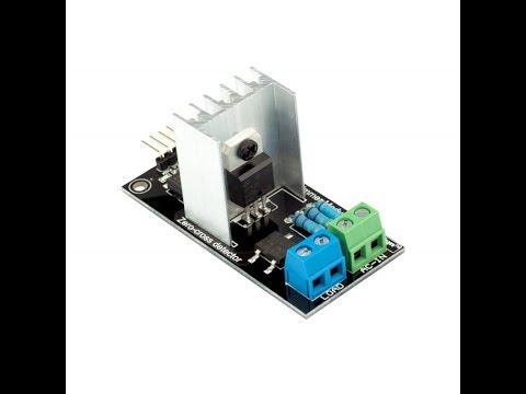 Модуль сетевого диммера управляемый Ардуино