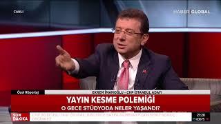 Ekrem İmamoğlu ve Ahmet Hakan Arasında Neler Yaşandı?