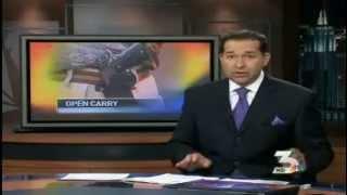 It is legal to Open Carry a firearm on the las Vegas Strip.