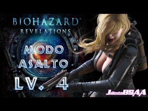 Resident Evil Revelations PC [Modo Asalto Rachel] Mision 4