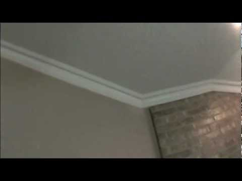 Crown Moulding Sloped Ceiling Install