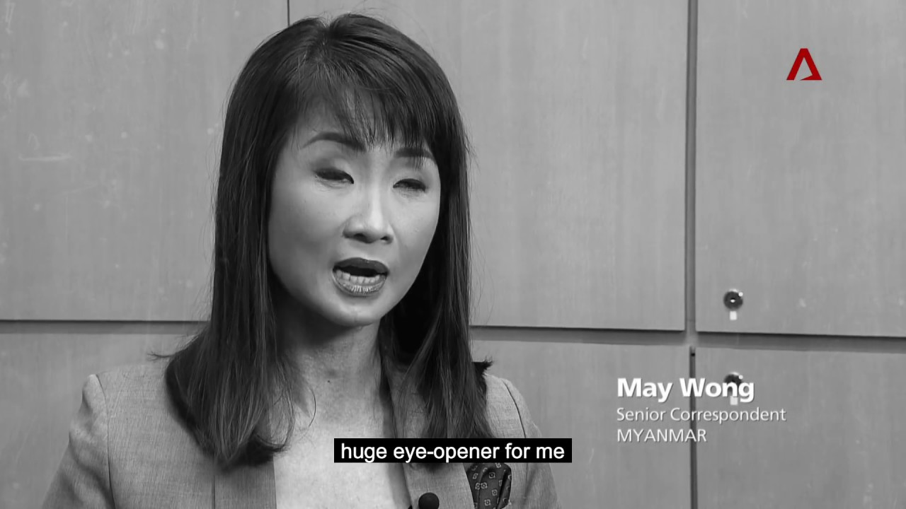 May - Senior Correspondent, Myanmar, Channel NewsAsia