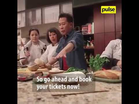 Celebrity Chef Martin Yan In Sri Lanka!