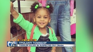 Toddler is hit and killed in car accident ypsilanti 2016