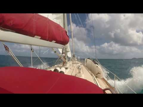 Sailing ~~~~~~Virgin Island traveler~~~~ tacking up wind