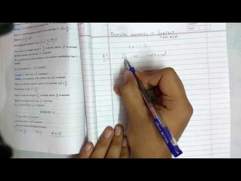 Chapter 1 real numbers maths class 10 exercise 1.3 (N.C.E.R.T IN English or Hindi)