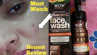 WOW Vitamin C forming face wash( Honest review) Sunita world