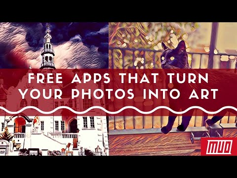 5 Free Apps to Turn Photos Into Art on Android, iPhone, or Web
