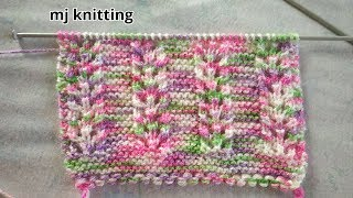 New beautiful knitting pattern for ladies/gents/kids #13
