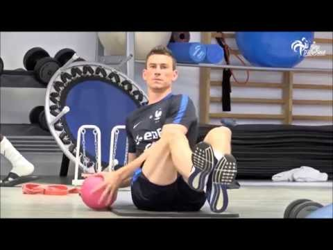 French National Soccer Team Gym Workout