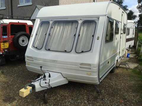 swift rapide caravan restoration