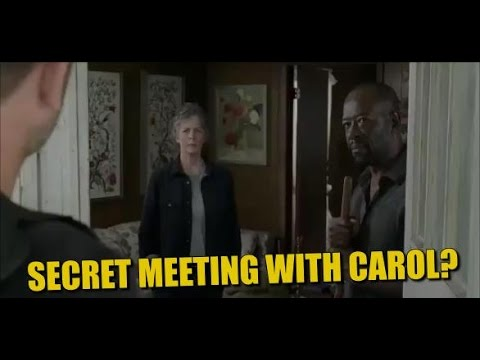 Download The Walking Dead Season 7 Episode 8 Spoilers & Promo Carol In A Secret Meeting?