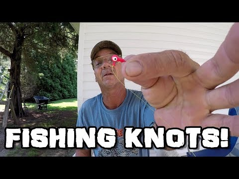 How To Tie Fishing Knots - Trilene Knot, Palomar Knot, And Loop Knot
