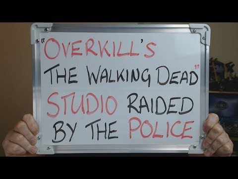 OVERKILL'S THE WALKING DEAD Studio RAIDED by the POLICE !! thumbnail