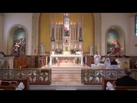 Tridentine Nuptial Solemn High Mass - Norristown, PA July 12, 2014