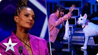 Amanda & Miracle MELT our hearts with a TEARFUL theatrical performance | Semi-Finals | BGT 2020