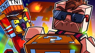 A Lucky Block Race, Except Vanoss Uses TNT - Minecraft Funny Moments