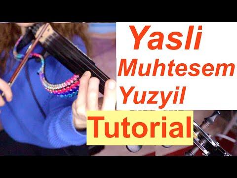 Muhtesem Yuzyil -YASLI/ TUTORIAL/ Ibrahim Pasha /The Magnificent Century +VIOLIN SCORE/