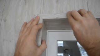 Как устанавливать внешние углы (откосы) для панелей МДФ(, 2016-12-31T10:44:29.000Z)