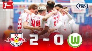 RB Leipzig - Wolfsburgo [2-0] | GOLES | Jornada 29 | Bundesliga