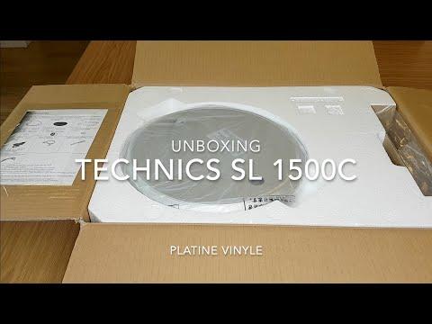 Unboxing platine vinyle Technics SL-1500C (No comment)