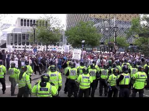 EDL Riot in Birmingham (20.07.13)