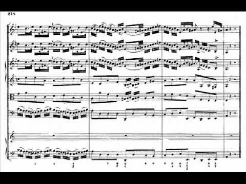 J.S. Bach - BWV 1044 - (1) Allegro A minor / a-moll