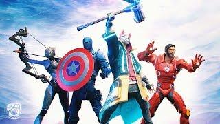 THE NEW AVENGERS! *SEASON 8 ENDGAME* (A Fortnite Movie)