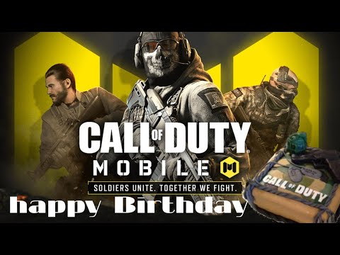 Happy Birthday Call Of Duty Mobile Wises By Atomic Messer Youtube