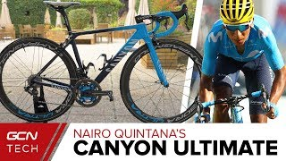 Nairo Quintana's Canyon Ultimate CF SLX