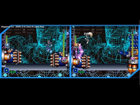 Megaman X5 (X And Zero) At Same Time With 1 Control.