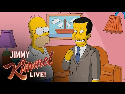 Thumbnail: Homer Simpson Gives Jimmy Kimmel a Tour of Springfield