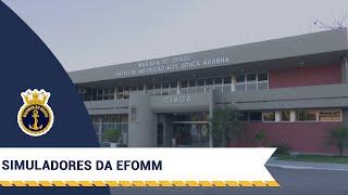 Conheça os avançados simuladores da EFOMM