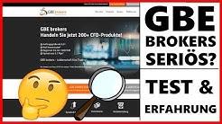 GBE Erfahrungen 2020 // Echter Forex & CFD Broker Test für Trader