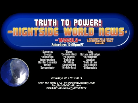 Nightside World News Weekly 02 18 2017 Nightside Radio Studios