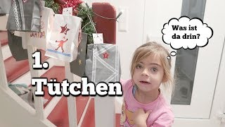 Erstes Adventstürchen  - Mama Alltag - Pumphose Nähen - Vlog#885  Rosislife