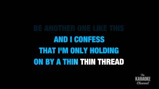 """Sad in the Style of """"Maroon 5"""" karaoke video with lyrics (no lead vocal)"""