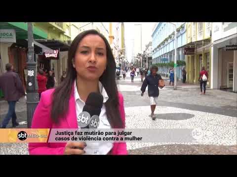 Justiça faz mutirão para julgar casos de violência contra a mulher