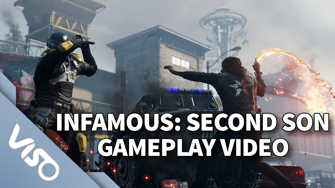 inFamous : Second Son : Gameplay Video