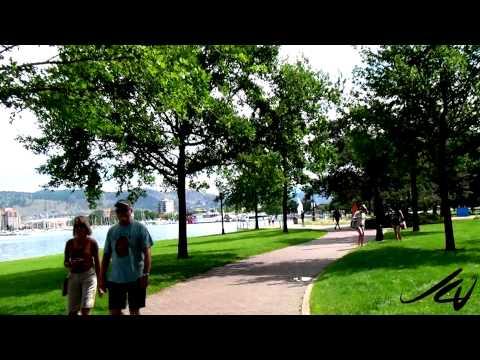 Kelowna Travel and Tourism 2012 Bike Tour  City Park video 4 - YouTube