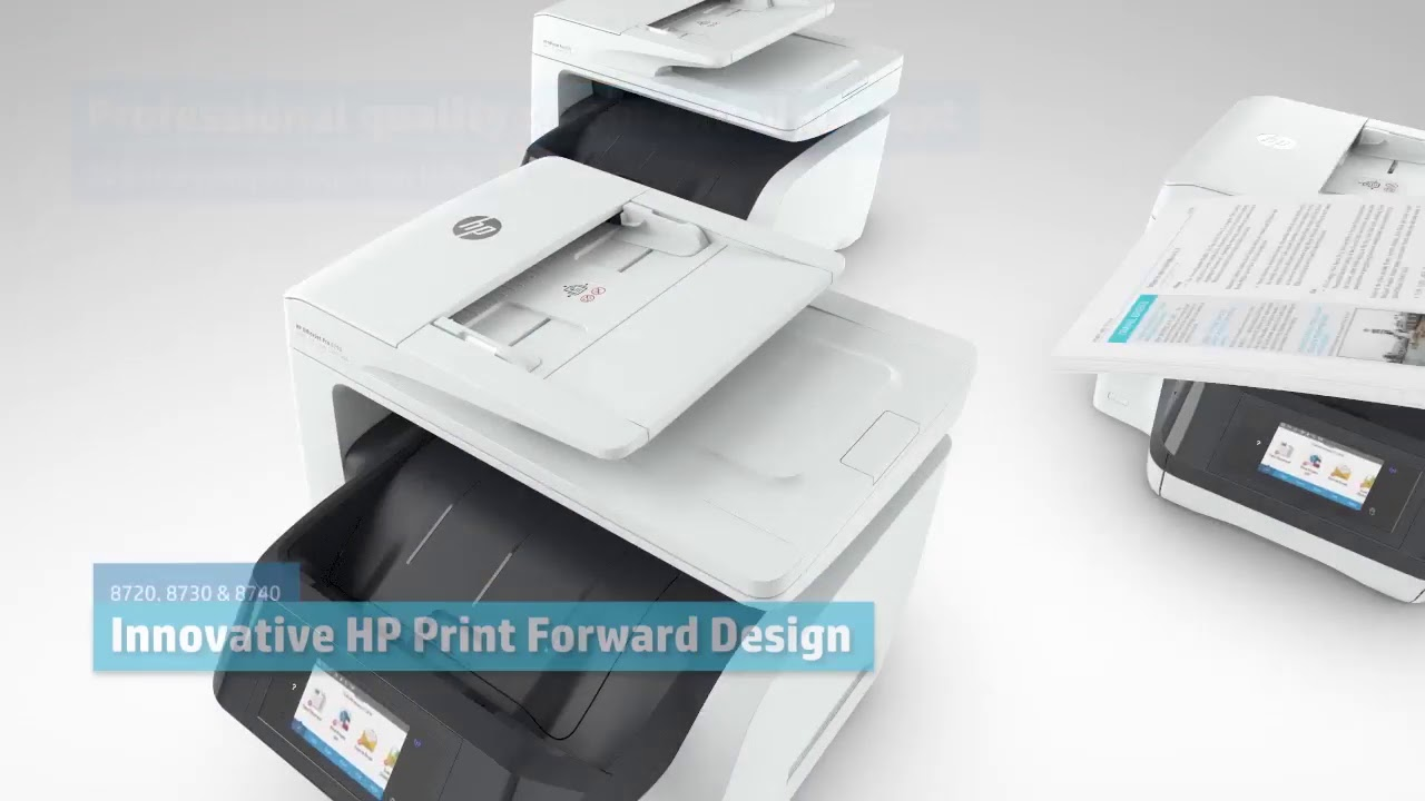 HP Officejet Pro 8730 All-in-One WirelessMulti-Function Inkjet Printer